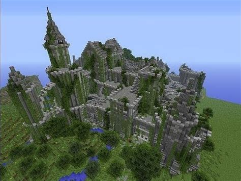 Minecraft Project - Ruin - YouTube