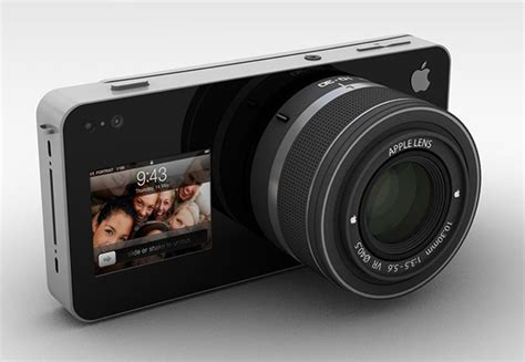 Apple iCam: A Modular Concept Camera That Uses an iPhone