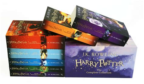 Harry Potter Full 7 Books Box Set Collection by J