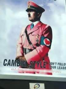 """""""Pink Hitler"""" poster causes offence   ITALY Magazine"""