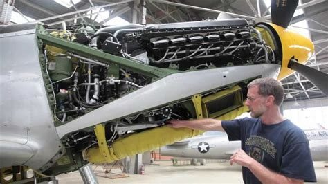 P-51H Mustang Restoration Project at Chanute Air Museum
