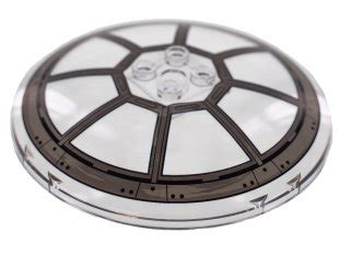 Trans-Clear Dish 8 x 8 Inverted (Radar) with TIE Fighter