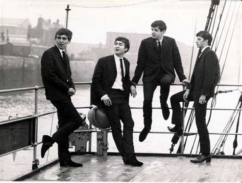 The Beatles – Original 1962 promo photo from 1st session