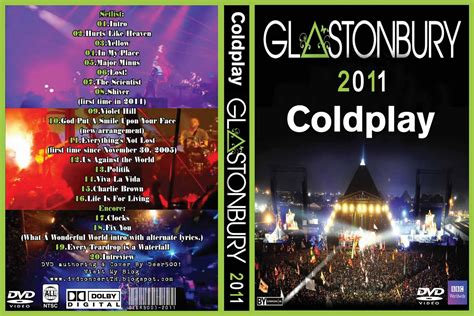 DVD Concert TH Power By Deer 5001: Coldplay - 2011 - Live