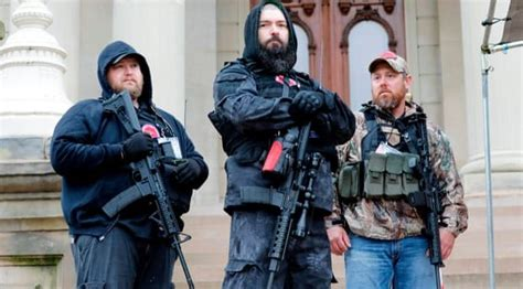 Are Armed Right-Wing Protests A Harbinger Of Fascism