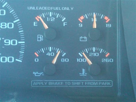 What does your oil pressure gauge read at an idle? Mine