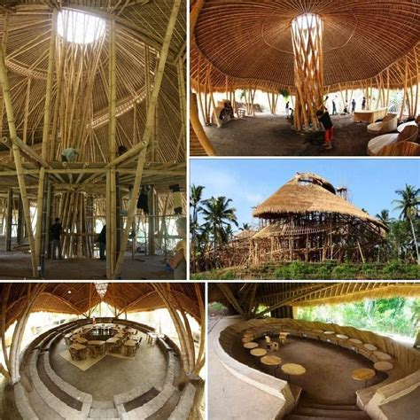 Green School out of pure Bamboo, by John Hardy and Cynthia