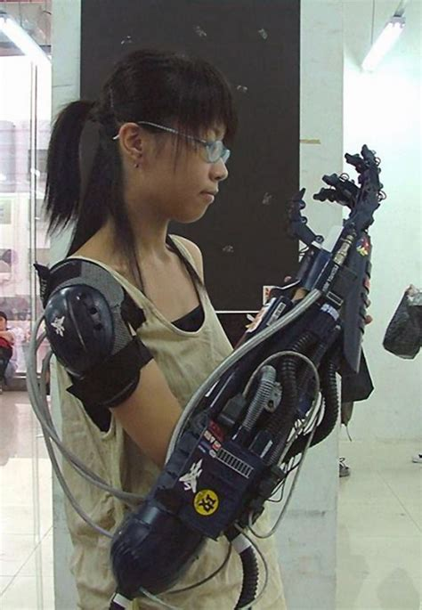 This is my Framed Armor Prosthetic arm!   Cyberpunk