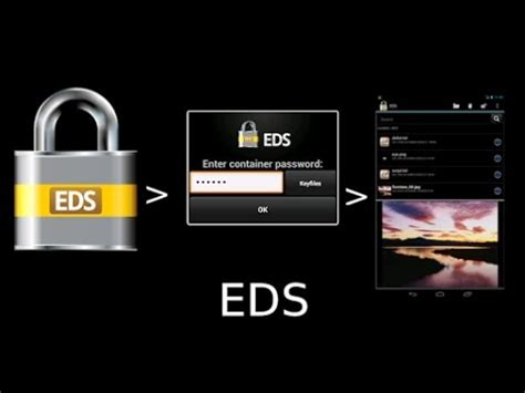 Hide photos and videos in android mobile with EDS lite app