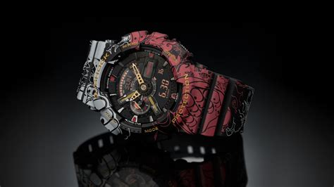 G-Shock Unveils One Piece And Dragon Ball Z Watch